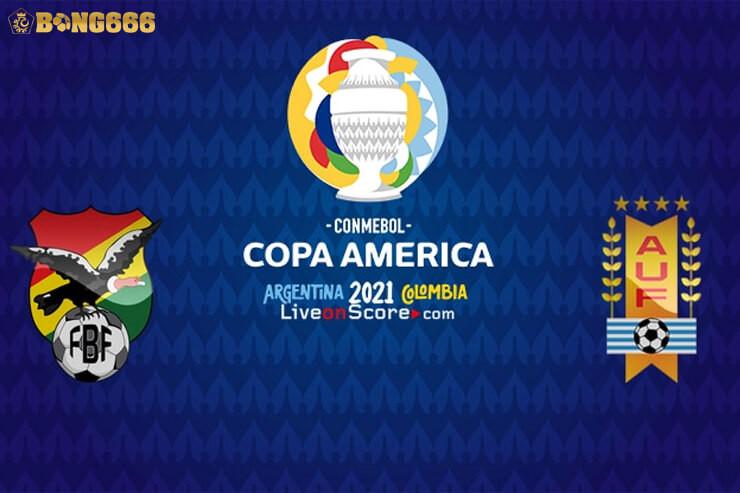 Nhận định kèo Bolivia với Uruguay