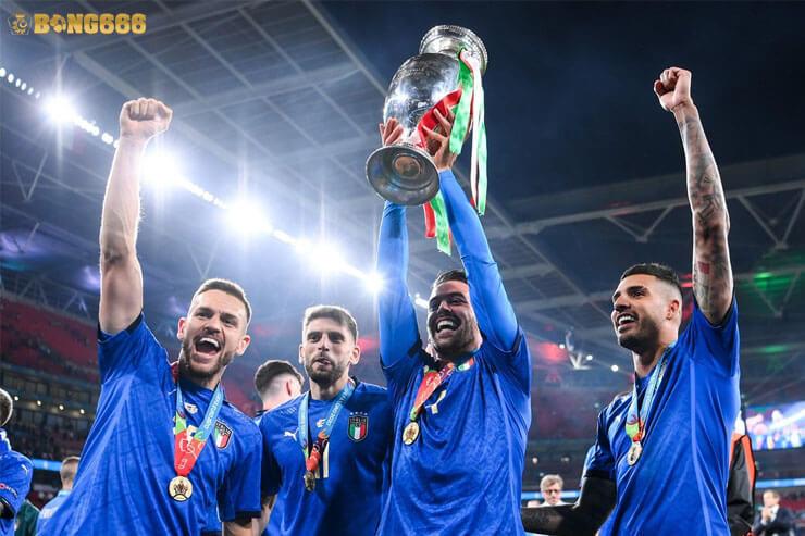 Italia - Đương kim vô địch Euro 2020