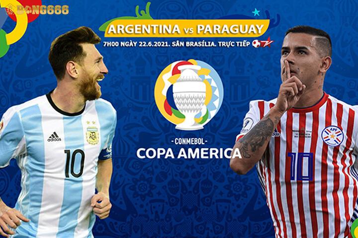 Dự đoán kết quả trận đấu: Argentina 2 – 1 Paraguay