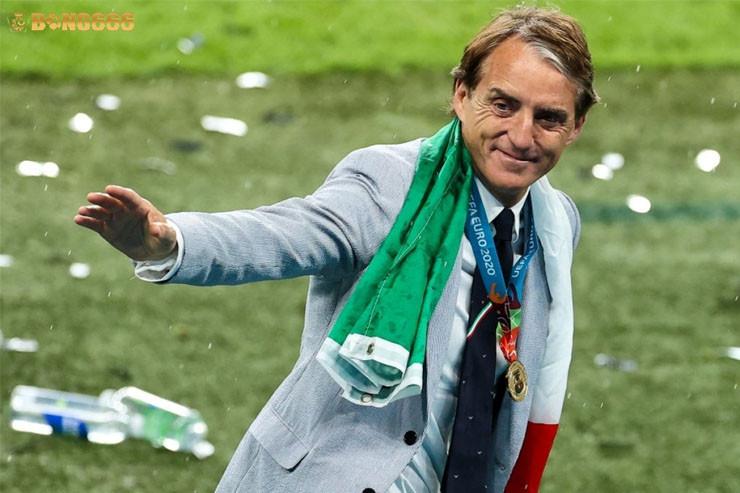 Sứ mệnh của Mancini tại Ý đã hoàn thành