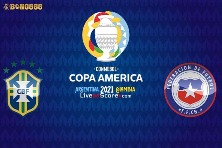 Dự đoán tỷ lệ kèo Brazil vs Chile Copa America 2021