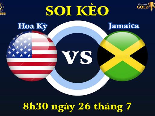 Soi Kèo Tứ Kết Hoa Kỳ Vs Jamaica Concacaf Gold Cup 2021, 8h30 Ngày 26/7