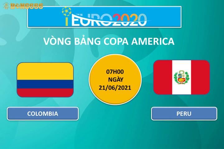 Dự đoán kèo tỷ số Colombia và Peru