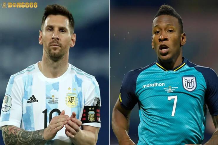 Dự đoán tỷ lệ kèo tứ kết Argentina vs Ecuador