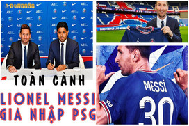 Lionel Messi Chính Thức Khoác Lên Mình Màu Áo PSG