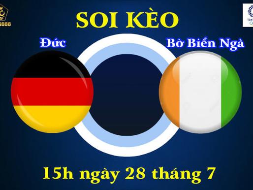 Soi Kèo Olympic Tokyo 2021 | U23 Đức Vs U23 Bờ Biển Ngà | 15h Ngày 28/7