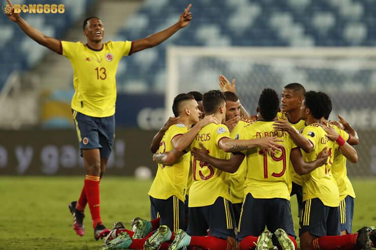 Dự đoán kèo tứ kết Uruguay vs Colombia