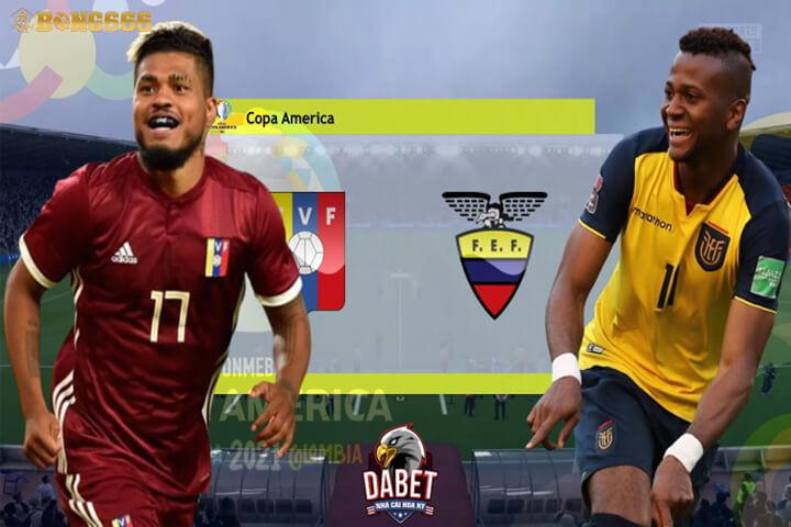 Soi kèo Venezuela vs Ecuador Copa America