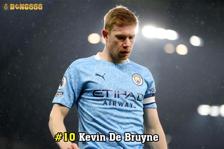 Cầu thủ có nhiều đường kiến tạo - Kevin De Bruyne