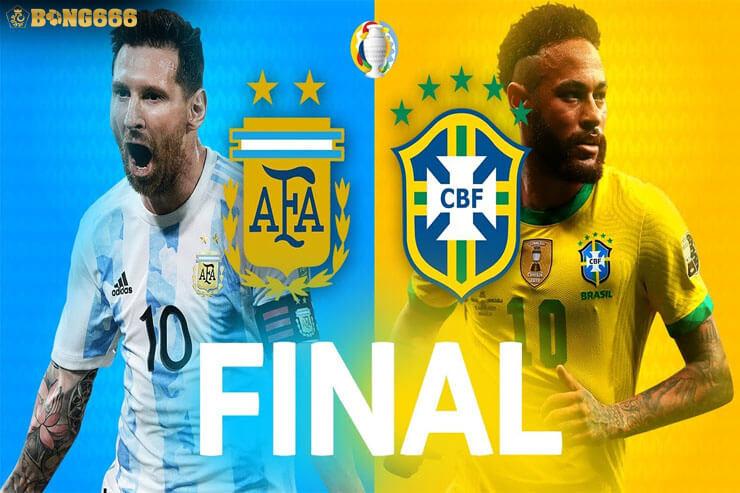 Nhận định kèo chung kết Argentina vs Brazil