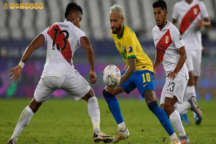 Soi tỷ lệ kèo bán kết Brazil vs Peru