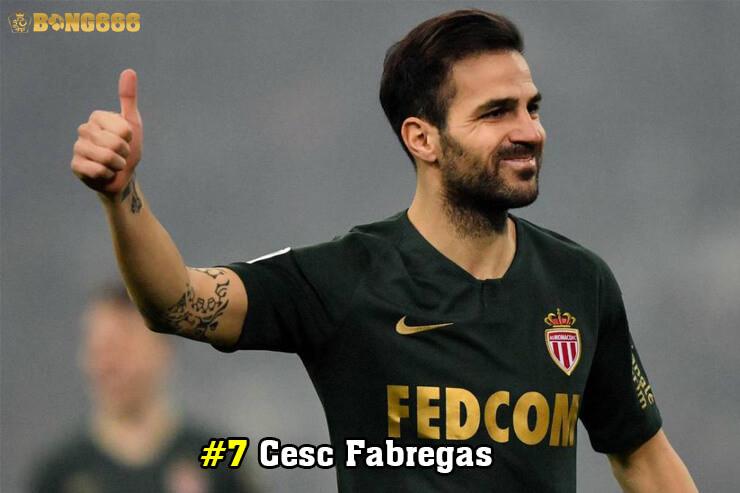Cầu thủ có nhiều đường kiến tạo - Cesc Fabregas