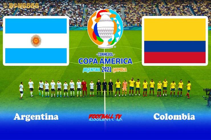 Bán kết Argentina vs Colombia Copa America 2021