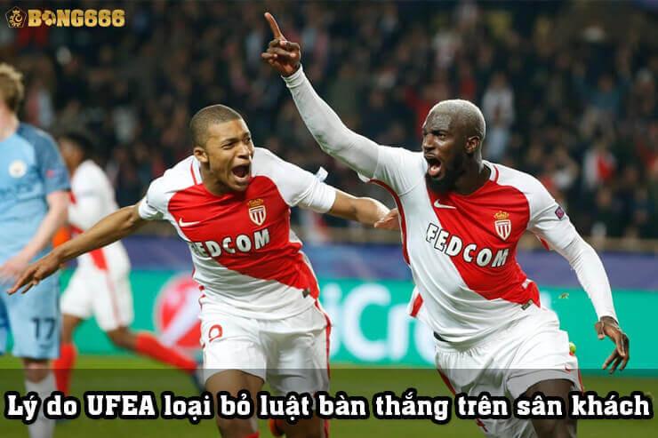 Lý do UFEA loại bỏ quy tắc bàn thắng sân khách