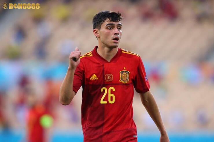 Cầu thủ xuất sắc nhất Euro 2020 - Pedri