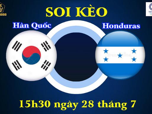 Soi Kèo Olympic Tokyo 2021 | U23 Hàn Quốc Vs U23 Honduras | 15h30 Ngày 28/7