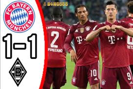 Bayern Munich Hòa Bạc Nhược Monchengladbach: HLV Nagelsmann Kém Tài?