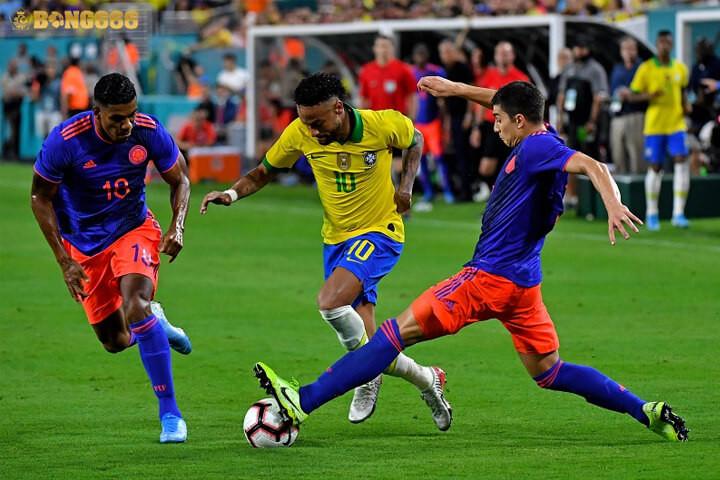 Nhận định kèo Colombia với Brazil