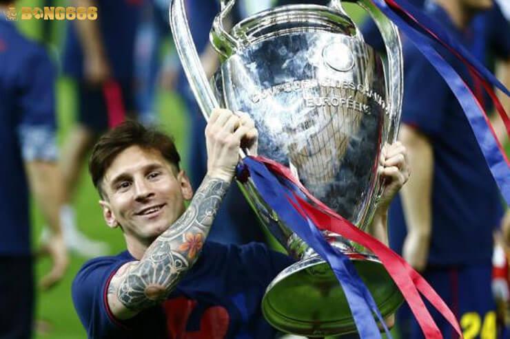 Messi 4 lần vô địch Champions League