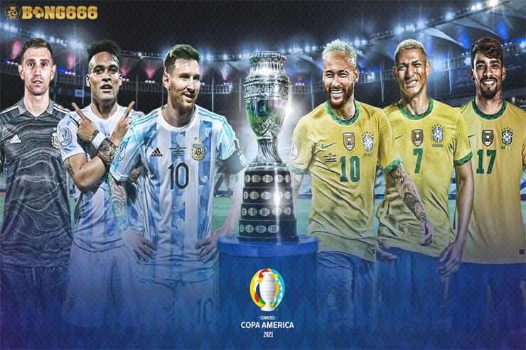 Nhận định kèo chung kết Argentina và Brazil