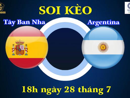 Soi Kèo Olympic Tokyo 2021 | U23 Tây Ban Nha Vs U23 Argentina | 18h00 Ngày 28/7