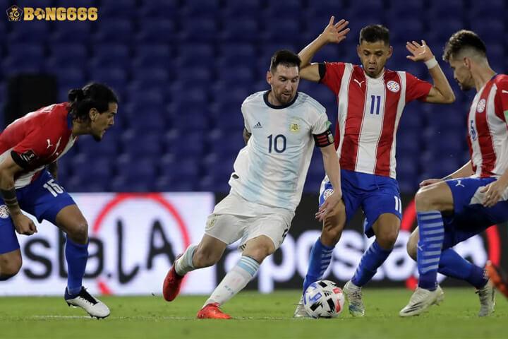 Nhận định kèo Argentina vs Paraguay