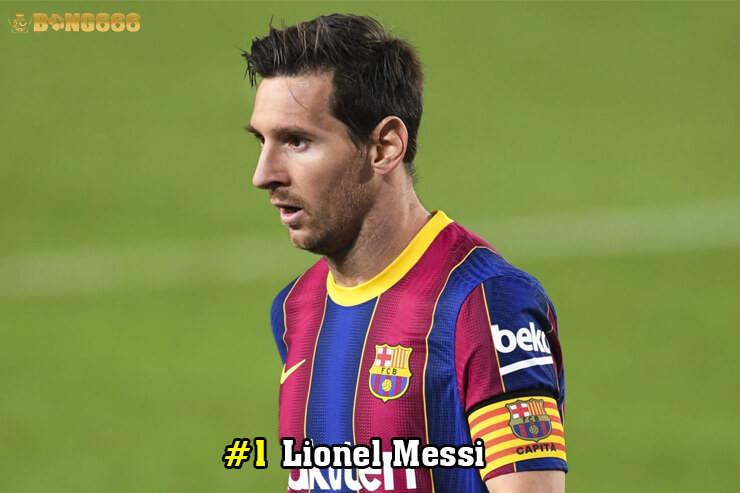 Cầu thủ có nhiều đường kiến tạo - Lionel Messi