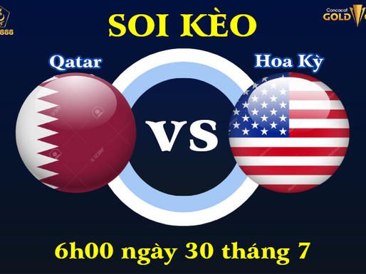 Soi Kèo Qatar Vs Hoa Kỳ Bán Kết Concacaf Gold Cup 2021, 6h00 Ngày 30/7