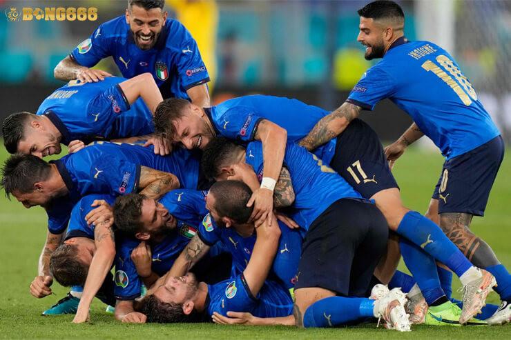 Euro 2020 Italy vs Bỉ