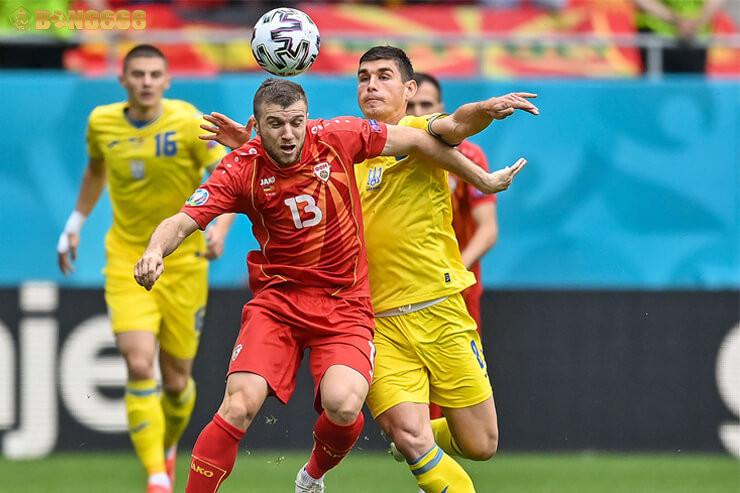 Ukraina và Bắc Macedonia EURO 2020