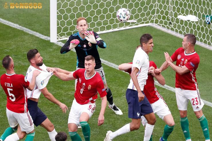 Hungary và Pháp EURO 2020