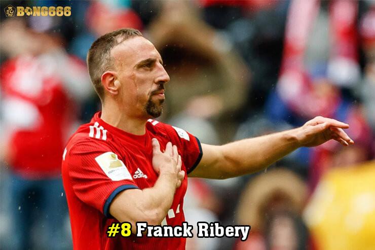 Cầu thủ có nhiều đường kiến tạo - Franck Ribery