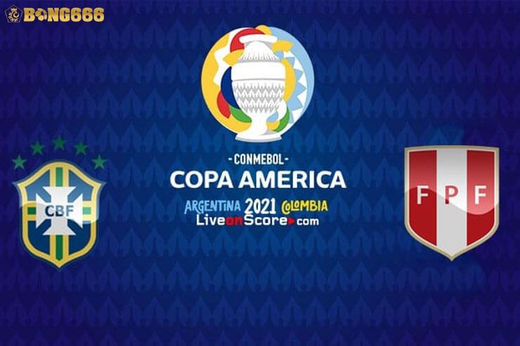 Bán kết Brazil với Peru Euro 2021