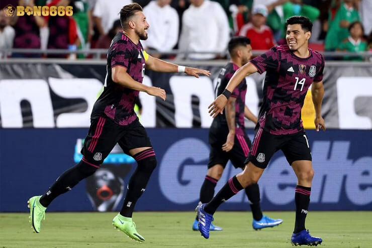 Soi kèo Mexico vs Canada Gold Cup 2021