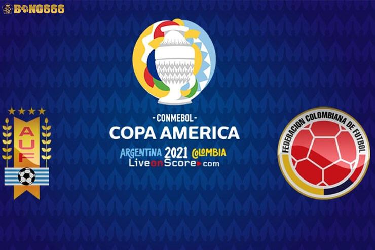 Uruguay vs Colombia Copa America 2021