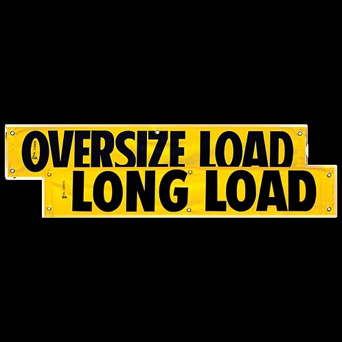 "12"" x 72"" Oversize Load Vinyl Banner"