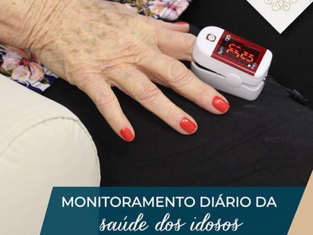 Monitoramento diário da saúde dos idosos