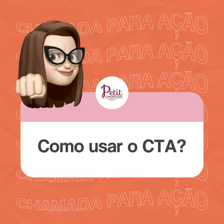 Como usar o CTA?