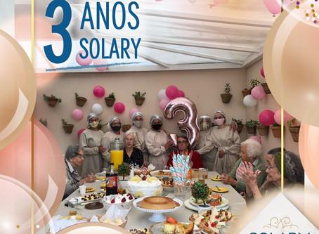 3 anos Solary!