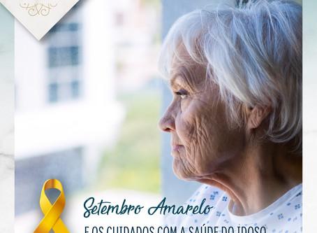 Setembro Amarelo e os cuidados com a saúde do idoso