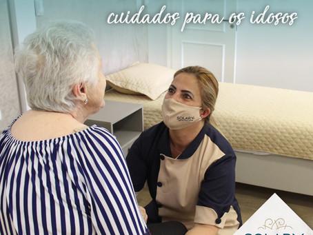 A melhor estrutura e cuidados para os idosos!
