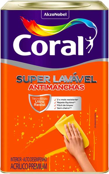 CORAL - Super Lavável