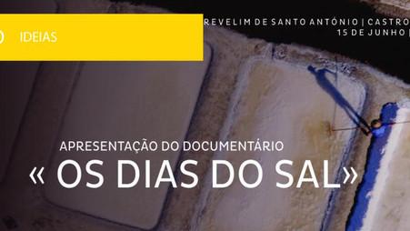 Documentários de Ivan Dias exibidos em Castro Marim