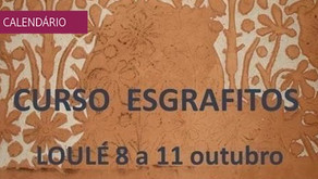 Curso de Esgrafitos na Bienal de Património