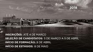 Estão abertas as candidaturas para a 23º edição do Programa de Estágios do MAAT