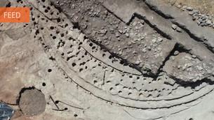 Estrutura única na Península Ibérica descoberta nas escavações de Perdigões