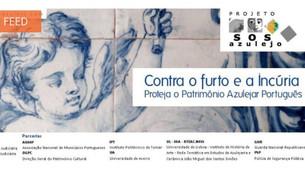 Abertura de candidaturas para os prémios 'SOS Azulejo 2019'