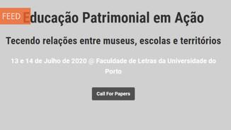 """Conferência """"Educação Patrimonial em Acção"""": call for papers"""