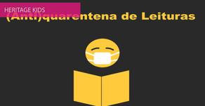 Plano Nacional de Leitura dá o mote para uma Antiquarentena de Leituras