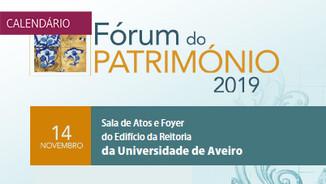 Forum do Património 2019